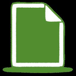 green-document-icon